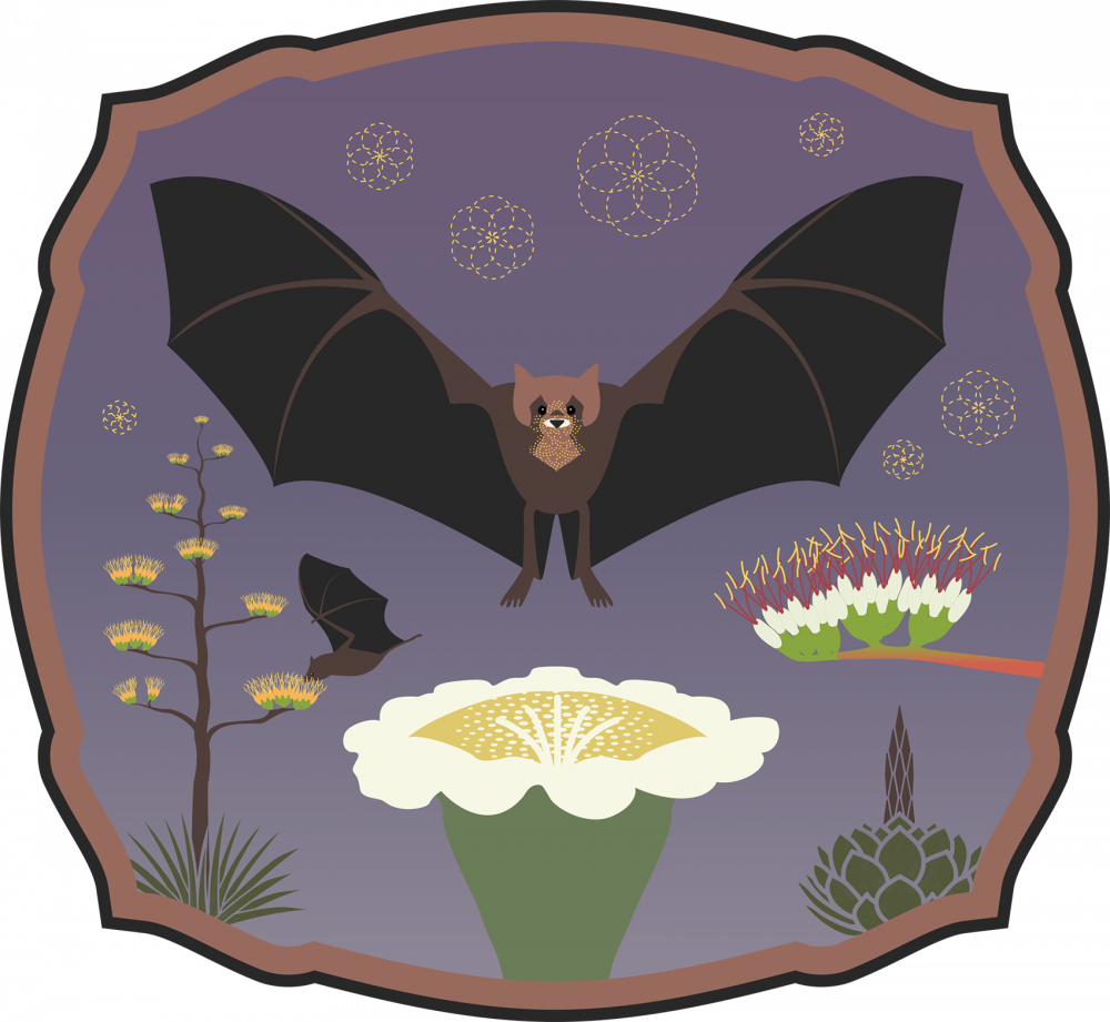 Flowers for Bats badge