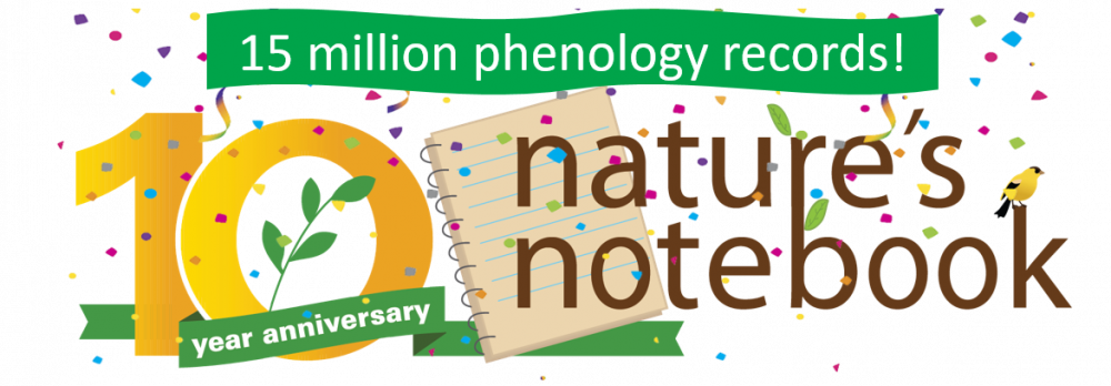 15 million records Nature's Notebook