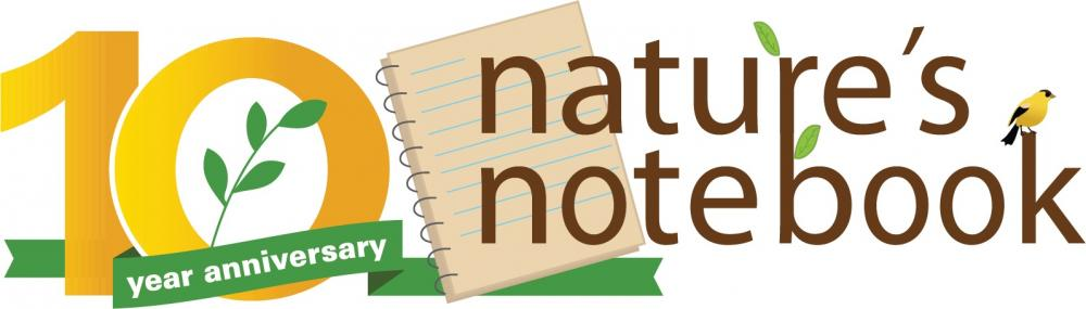 Nature's Notebook 10 year anniversary logo