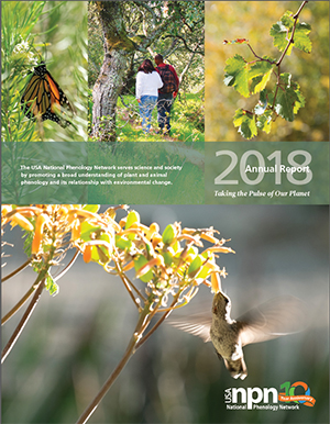 USA-NPN 2018 Annual Report Cover