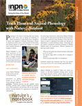 Nature's Notebook Fact Sheet cover