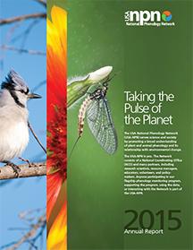 USA-NPN 2015 Annual Report Cover