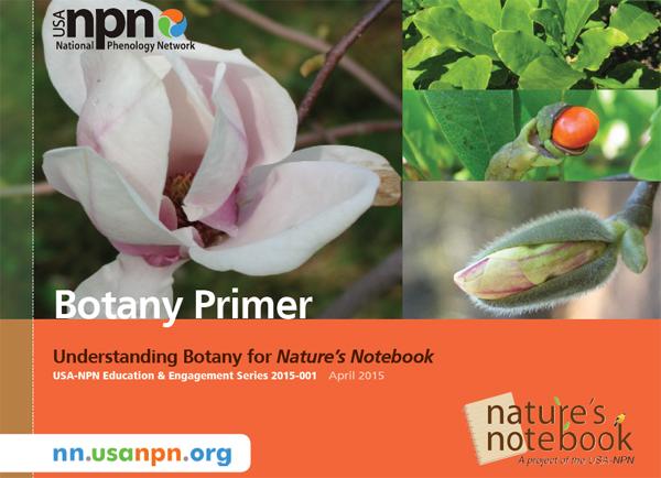 USA-NPN Botany Primer Cover